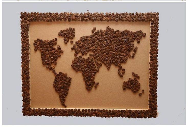 Сделать картину из кофейных зерен